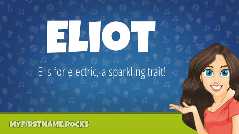 My First Name Eliot Rocks!