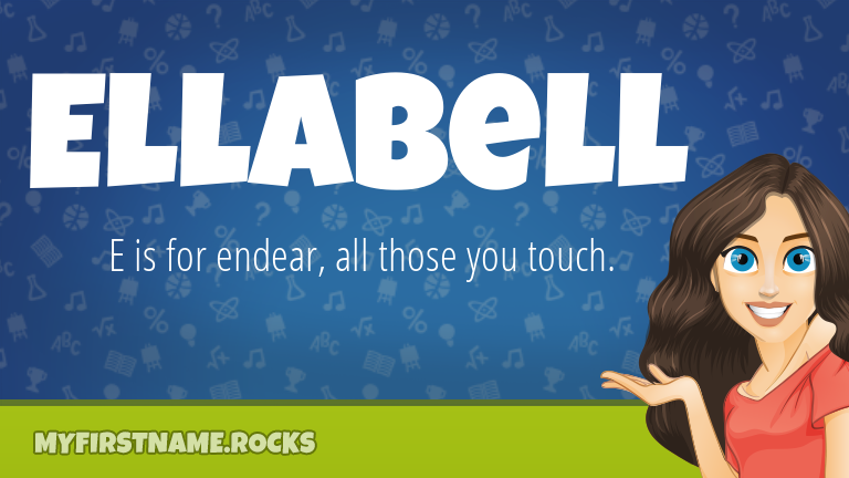 My First Name Ellabell Rocks!