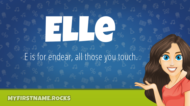 My First Name Elle Rocks!