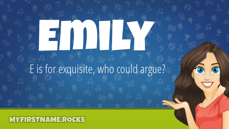 My First Name Emily Rocks!