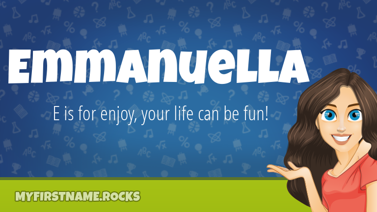 My First Name Emmanuella Rocks!