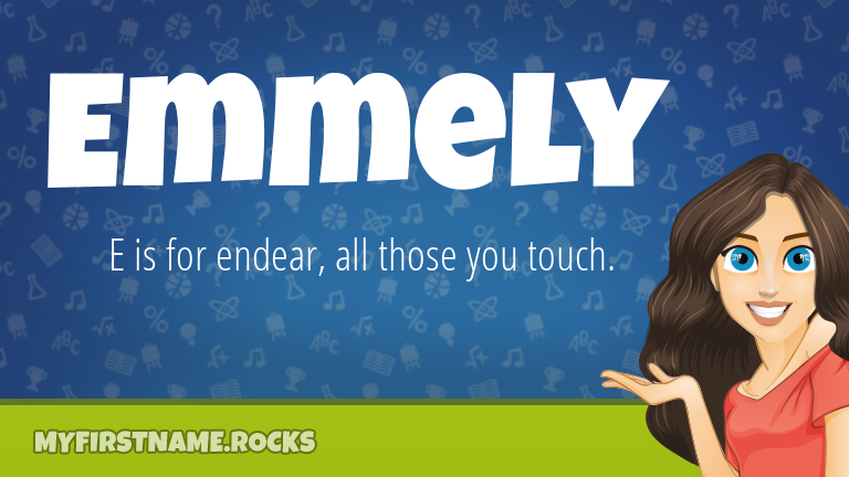 My First Name Emmely Rocks!
