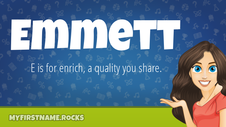 My First Name Emmett Rocks!
