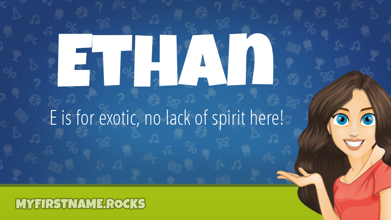 My First Name Ethan Rocks!