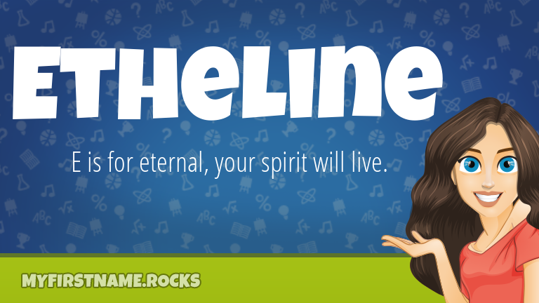 My First Name Etheline Rocks!