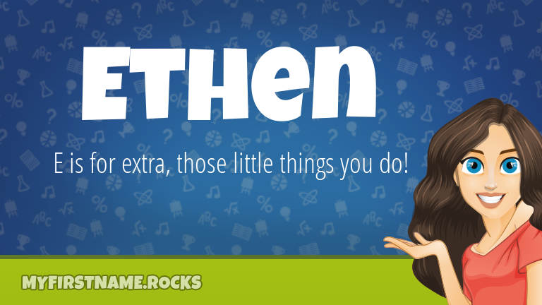 My First Name Ethen Rocks!