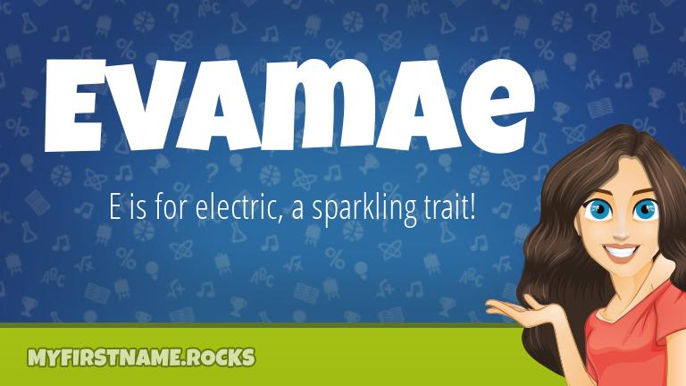 My First Name Evamae Rocks!
