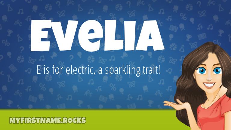 My First Name Evelia Rocks!