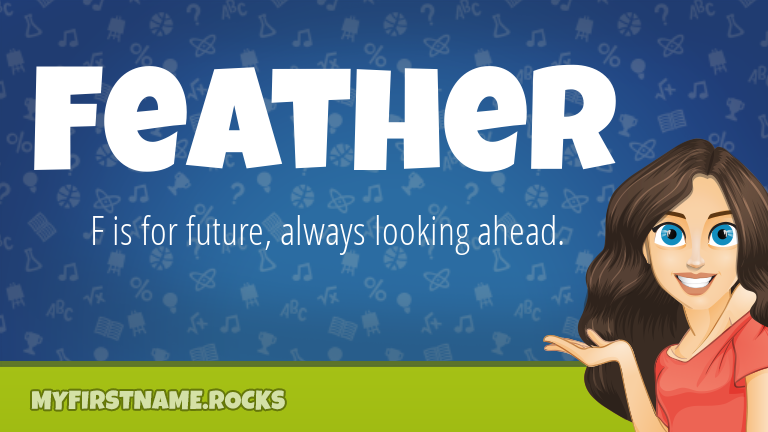 My First Name Feather Rocks!