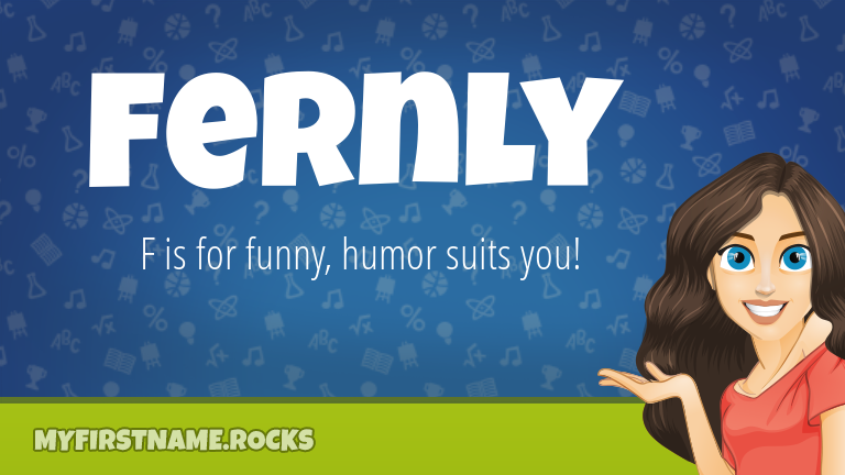 My First Name Fernly Rocks!