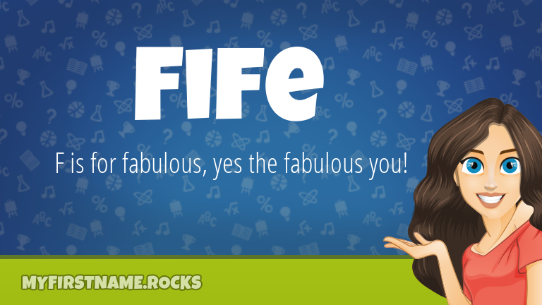 My First Name Fife Rocks!