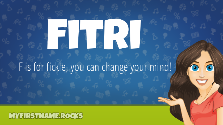 My First Name Fitri Rocks!