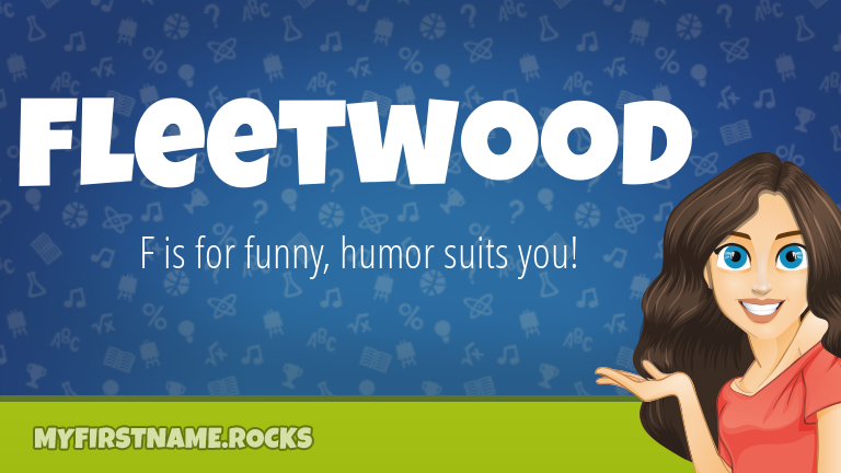 My First Name Fleetwood Rocks!