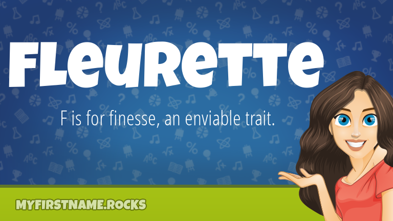 My First Name Fleurette Rocks!