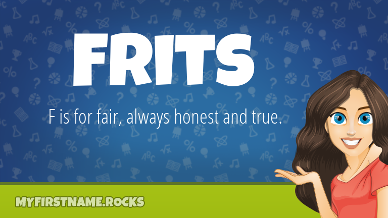 My First Name Frits Rocks!
