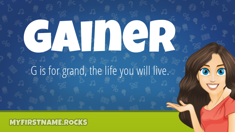 My First Name Gainer Rocks!