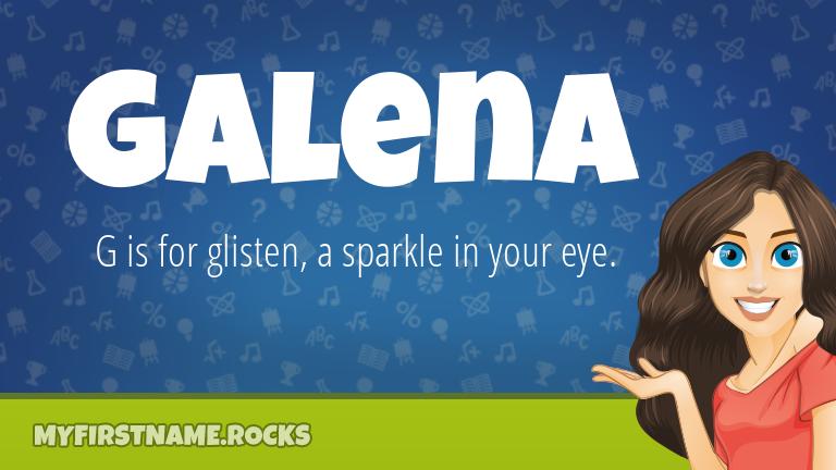 My First Name Galena Rocks!