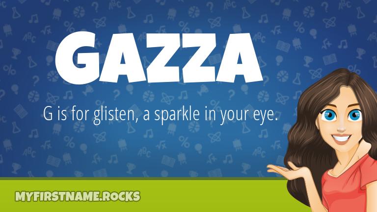 My First Name Gazza Rocks!