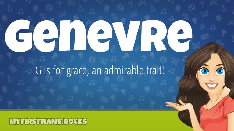 My First Name Genevre Rocks!
