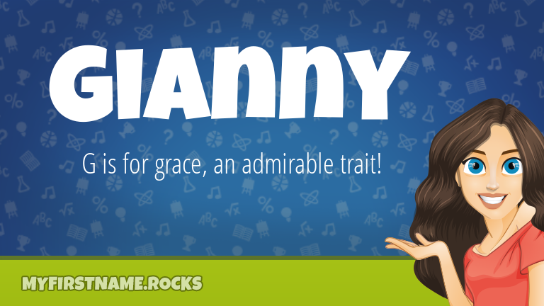My First Name Gianny Rocks!