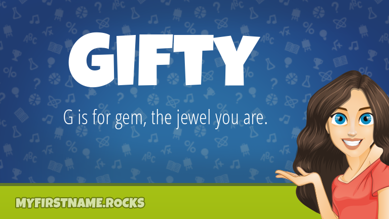 My First Name Gifty Rocks!