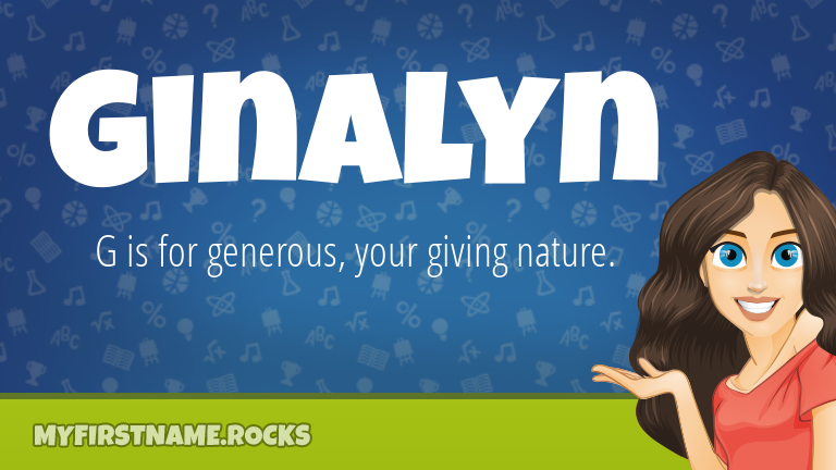 My First Name Ginalyn Rocks!
