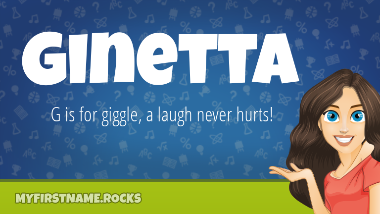 My First Name Ginetta Rocks!