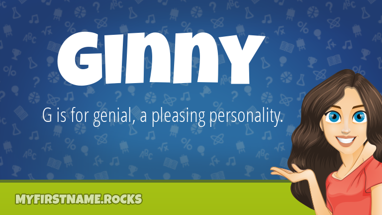 My First Name Ginny Rocks!