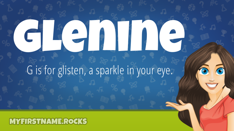 My First Name Glenine Rocks!