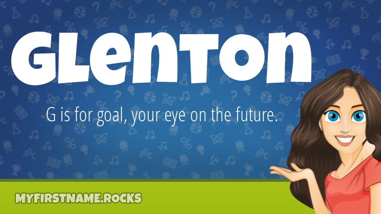 My First Name Glenton Rocks!