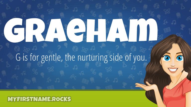 My First Name Graeham Rocks!