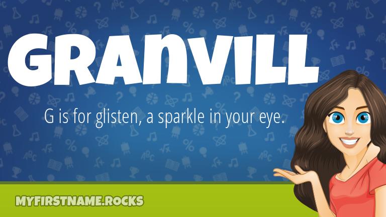 My First Name Granvill Rocks!