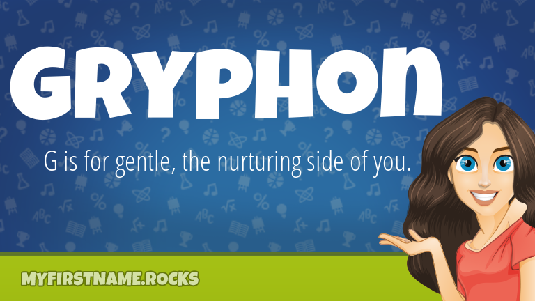 My First Name Gryphon Rocks!