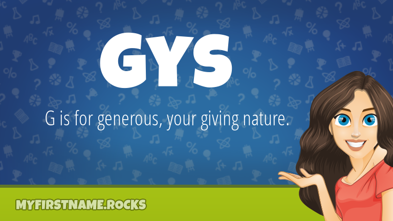 My First Name Gys Rocks!