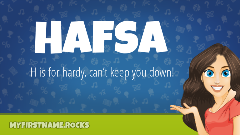 My First Name Hafsa Rocks!