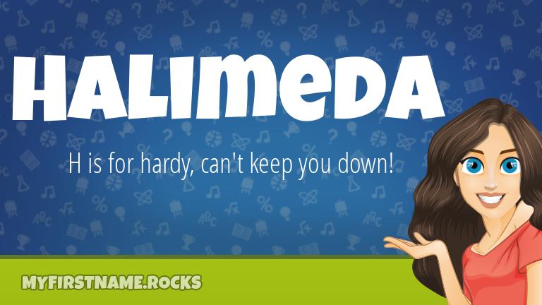 My First Name Halimeda Rocks!