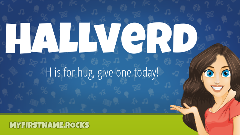 My First Name Hallverd Rocks!
