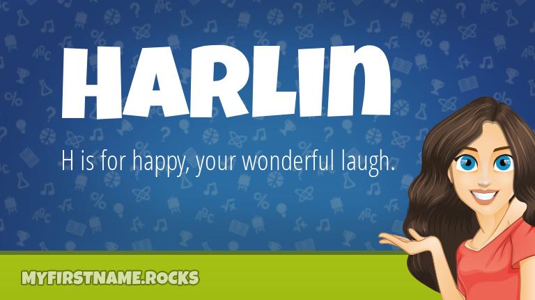 My First Name Harlin Rocks!