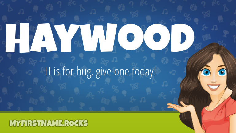My First Name Haywood Rocks!