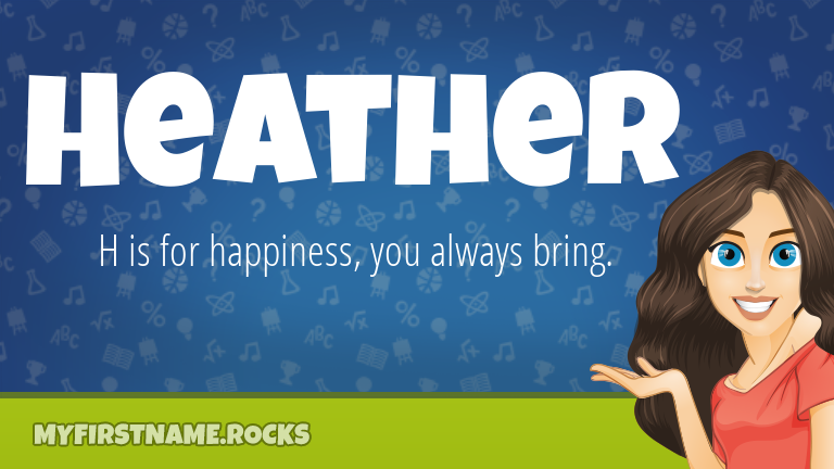 My First Name Heather Rocks!