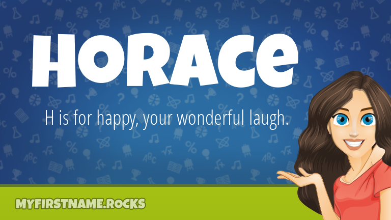 My First Name Horace Rocks!