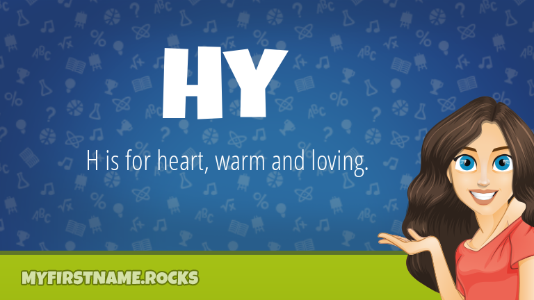 My First Name Hy Rocks!