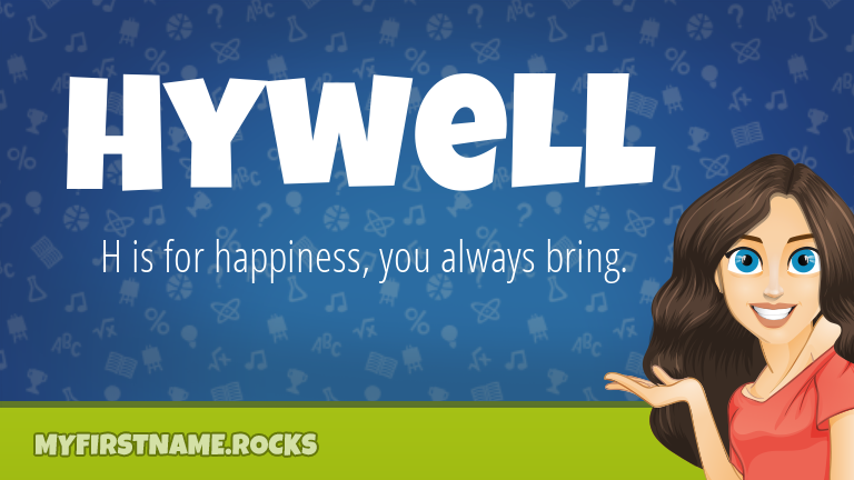 My First Name Hywell Rocks!