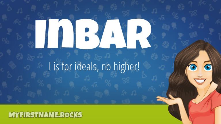 My First Name Inbar Rocks!