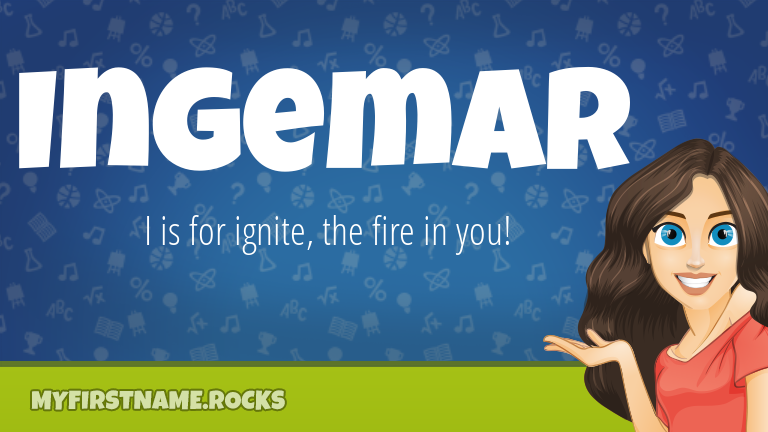 My First Name Ingemar Rocks!