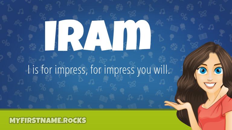 My First Name Iram Rocks!