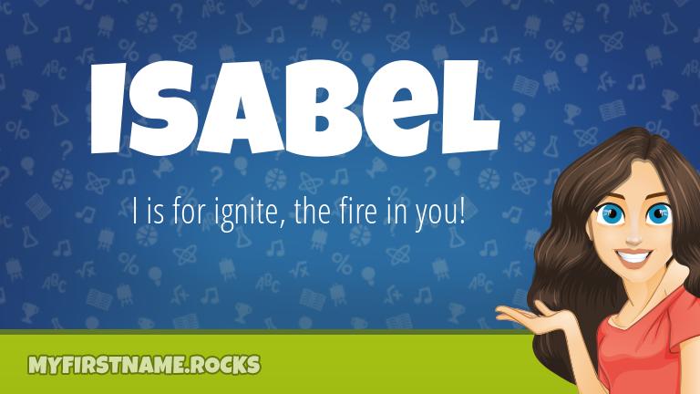 My First Name Isabel Rocks!