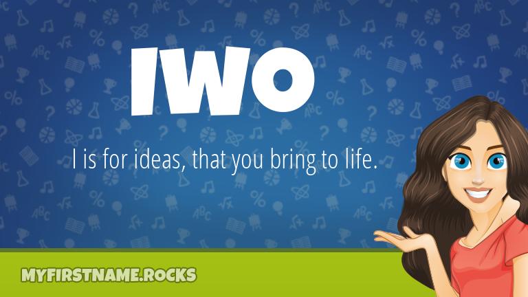 My First Name Iwo Rocks!