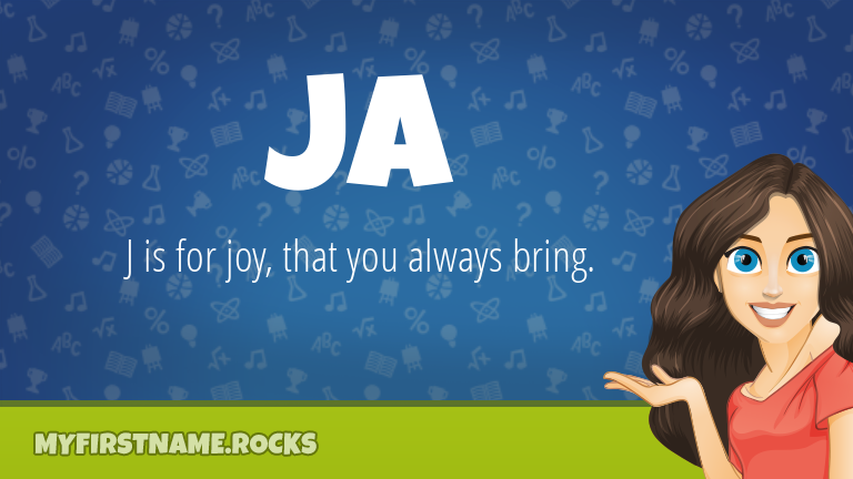 My First Name Ja Rocks!