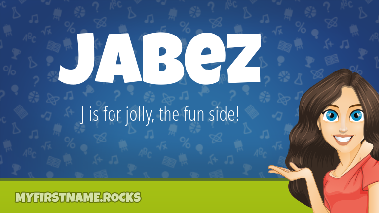 My First Name Jabez Rocks!